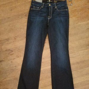 NWT! 7 for All Mankind KIMMIE BOOTCUT jeans 30